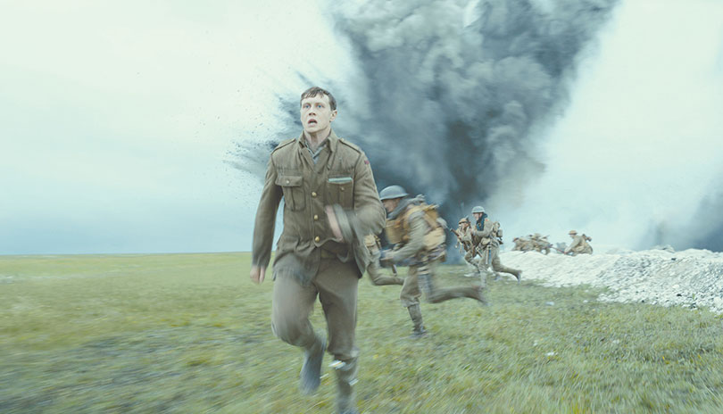 "George MacKay portrays Lance Corporal Schofield in ""1917,"" a film that could win the Best Picture Award at the Academy Awards. (photo courtesy of Universal Pictures)"