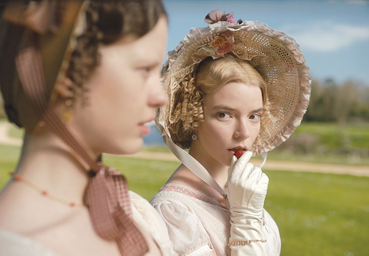"Anya Taylor-Joy stars as the title character and Mia Goth as Harriet Smith in ""Emma,"" the newest film based on the novel by Jane Austen. (photo courtesy of Focus Features)"