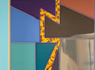 Luis de Jesus gallery exhibits abstract geometric artworks