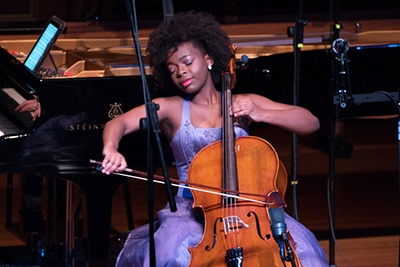 """Young artists will showcase their musical skills at a live recoring at The Wallis for NPR's national program """"From the Top."""" (photo courtesy of The Wallis)"""