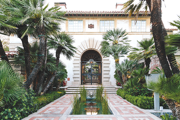 The Villa d'Este apartments on Laurel Avenue in West Hollywood are included in a series of photographs chronicling the city's historic properties. (photo by Tony Coelho)