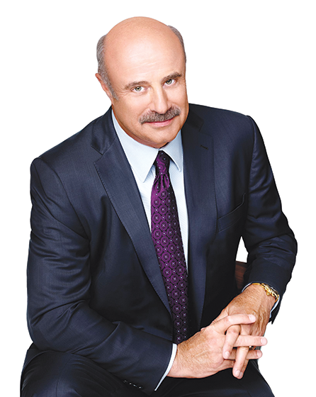 Phil McGraw (photo courtesy of the Hollywood Chamber of Commerce)