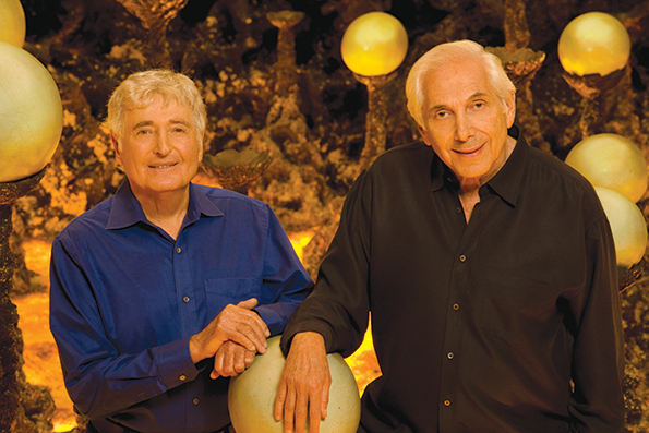 The Krofft Brothers are known for their work on television and in amusement parks. (photo courtesy of the Hollywood Chamber of Commerce)