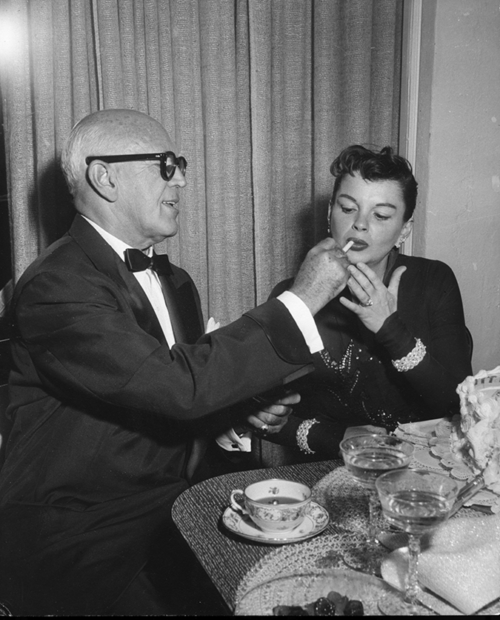 Jimmy McHugh and Judy Garland