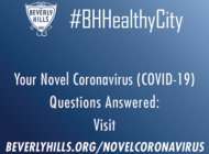 Beverly Hills to offer daily coronavirus updates