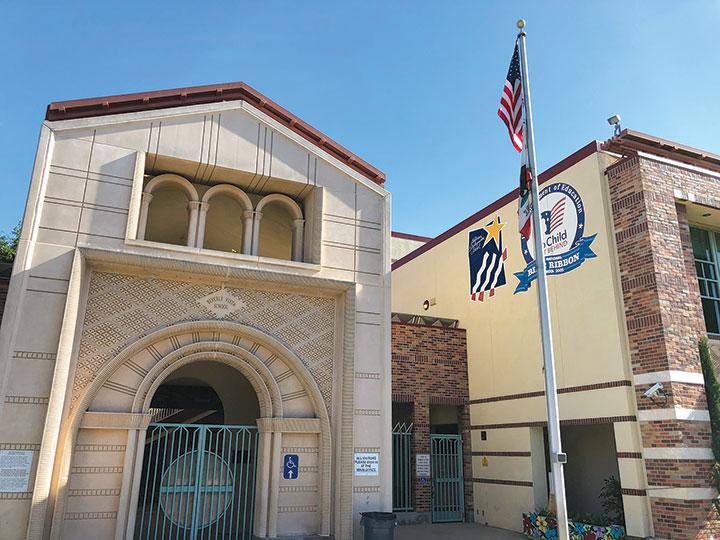 Beverly Vista Middle School now serves grades 6-8. (photo by Luke Harold)