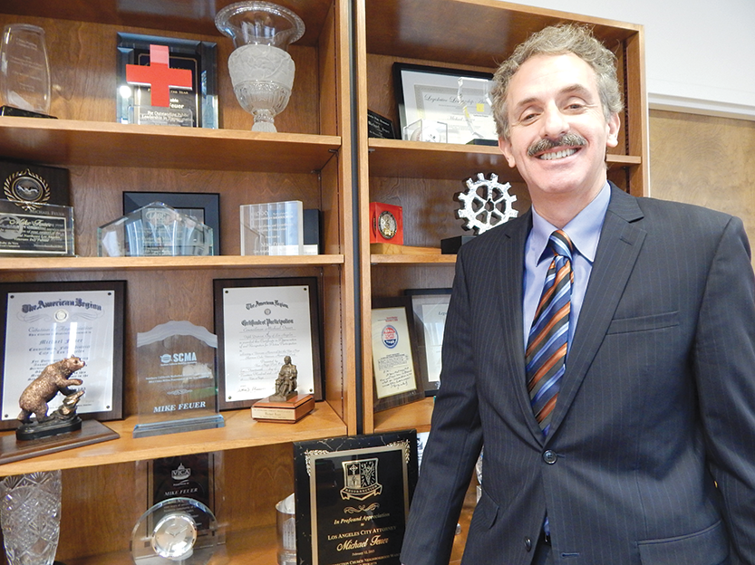 Los Angeles City Attorney Mike Feuer has announced his candidacy for mayor and wants to hear from residents about their concerns. (photo by Edwin Folven)