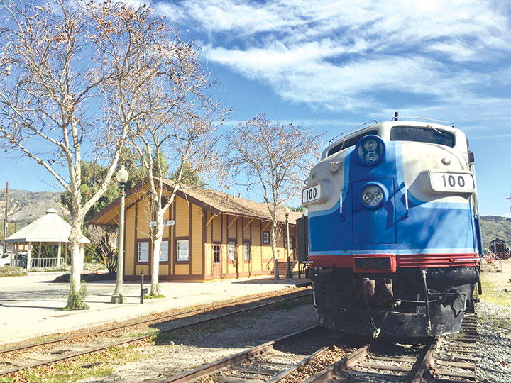photo courtesy of the Fillmore & Western Railway