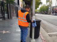 Hollywood BID sanitizes the streets