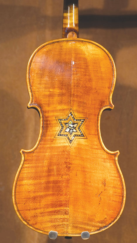 Violins belonging to victims of the Holocaust will be on display in a new exhibit at LAMOTH. (photo courtesy of LAMOTH)