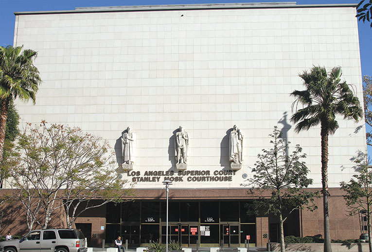 Los Angeles Superior Court will reopen on March 20 for emergency and essential services. (photo courtesy of commons.wikimedia.org)
