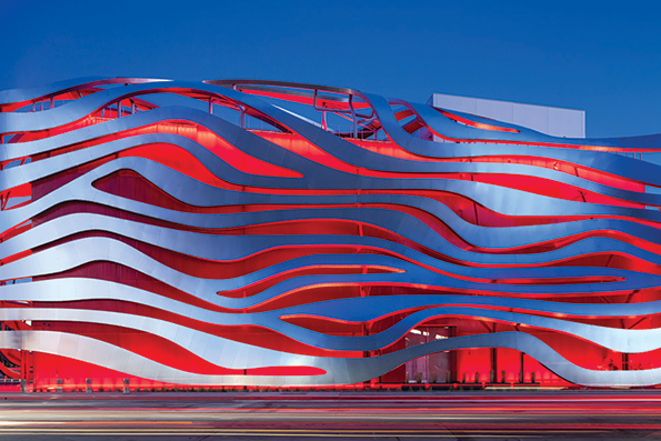 The Petersen Automotive Museum is closed through at least March 31. (photo courtesy of the Petersen Museum)