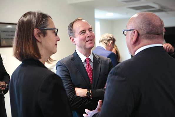 U.S. Rep. Adam Schiff hosted a roundtable discussion on affordable housing on Feb. 21. (photo courtesy of U.S. Rep. Adam Schiff's office)