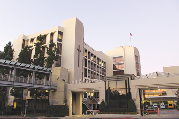 The state of California has entered an agreement with Verity Health System to repurpose St. Vincent Medical Hospital as a COVID-19 treatment facility. (photo by Morgan Keith)