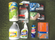 Tashman Home Center stocked with various cleaning supplies