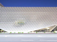 The Broad closes its doors