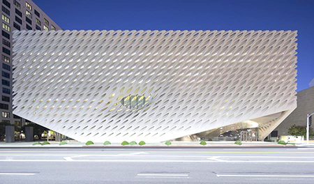 The Broad announced it will close until Tuesday, March 31. (photo courtesy of The Broad)