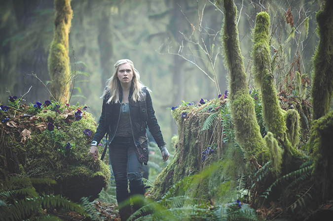 """""""The 100"""" returns for season seven this year on The CW. (photo courtesy of The CW)"""