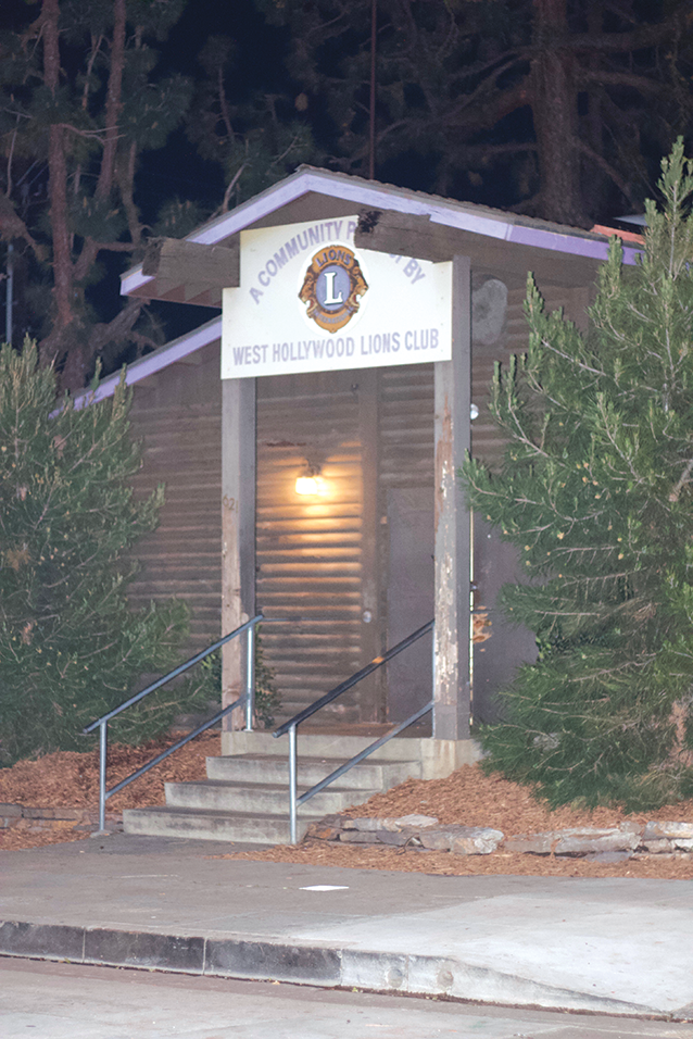 The Log Cabin hosts weekly 12-step programs for people recovering from various addictions. (photo by Jose Herrera)