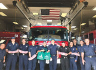 Community partnership feeds local firefighters
