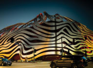 The Petersen Automotive Museum prepares for car week