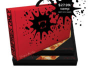 Vampire.Pizza pop-up delivered to your door