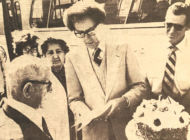 Vintage: A token of appreciation for  bus rider on his 100th birthday