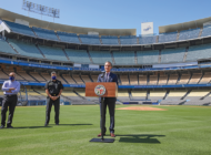 City, Dodgers set up COVID-19 testing site