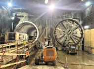 Subway tunneling complete to Wilshire/Fairfax subway station