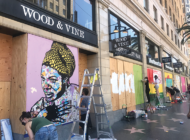 'Paint Your Peace' on Hollywood Boulevard