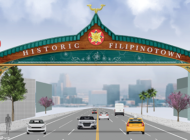 Renderings unveiled for Historic Filipinotown gateway