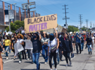 Peaceful marches emerge from weekend's violence