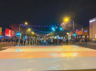 Trans flag painting stirs controversy in WeHo