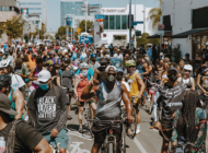 Power of the pedals support Black lives