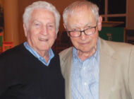 Camp survivor and liberator come together to reflect on the past