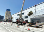 Metro work keeps pace along Wilshire Blvd.