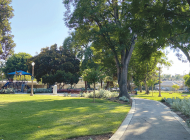 De Longpre Park gets a Hollywood makeover