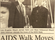 VINTAGE: AIDS Walk moves to WeHo