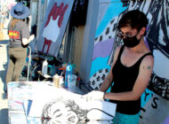 Street artists contribute to Melrose charity event