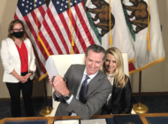 Newsom extends job-protected family leave