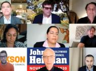 WeHo candidates debate rail, homelessness