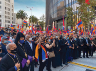 Tens of thousands join Armenian protest