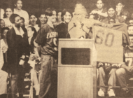 VINTAGE: Vice presidential candidate Kemp visits his alma mater