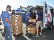 Dodgers help families in need with annual turkey giveaway