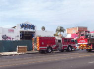 Fire damages vacant commercial building