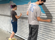 Partnership collaborates with artist on mural