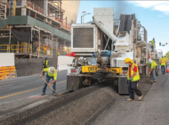 L.A. applies recycled plastic asphalt on first major street