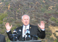 City honors Tom LaBonge by  naming peak in Griffith Park