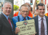 VINTAGE: Larry King Square