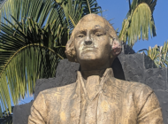 Paint removed from Haym Salomon statue